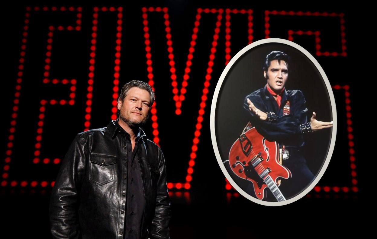 blake shelton elvis all-star tribute