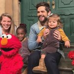 thomas rhett family sesame street
