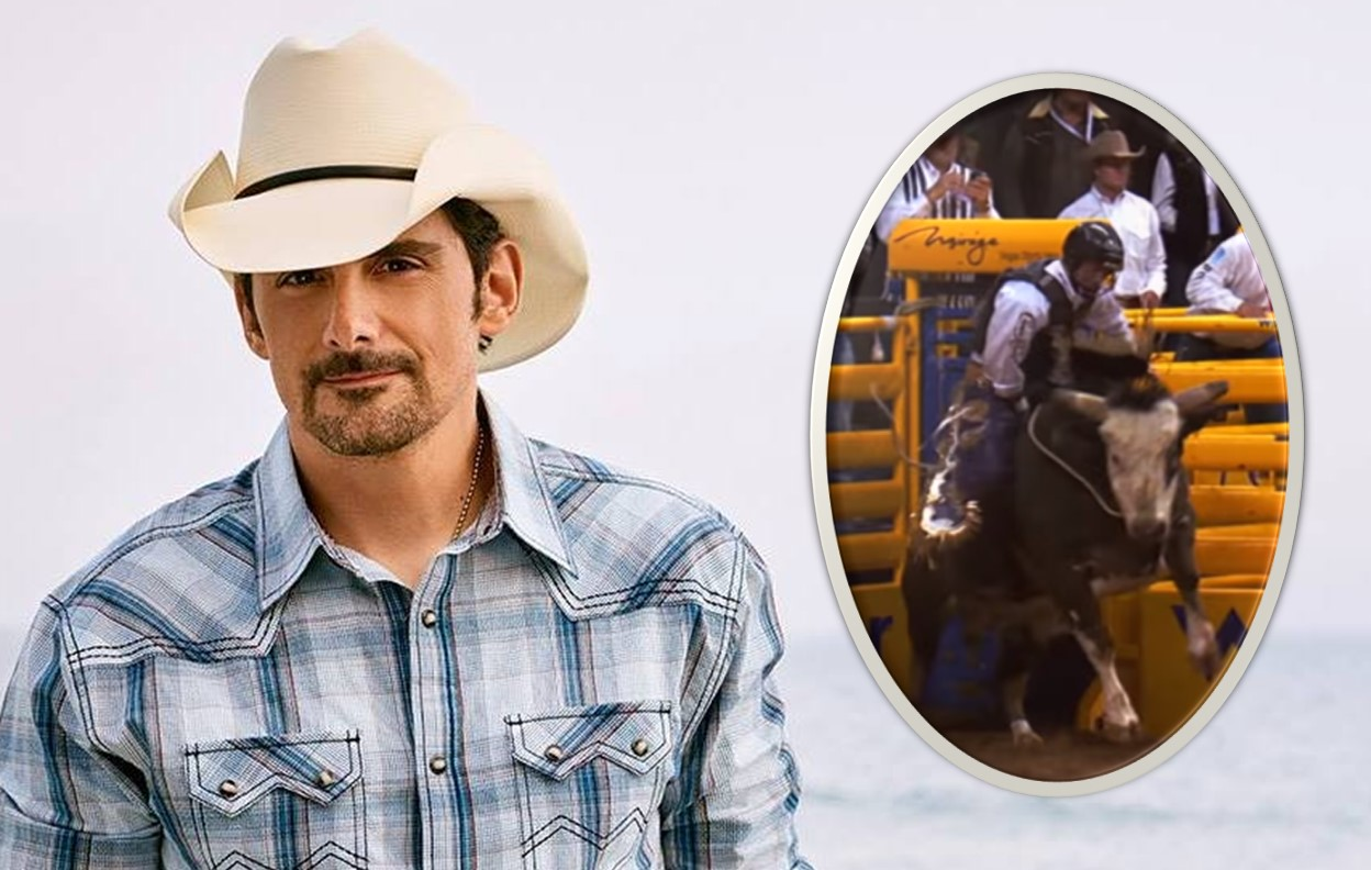 "Brad Paisley Unleashes ""Bucked Off (Rodeo Version)"" Music Video"