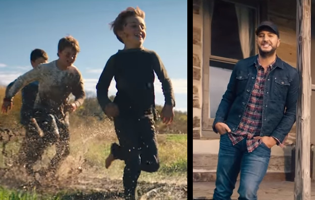 "Luke Bryan Debuts Family-Filled ""What Makes You Country"" Music Video"