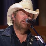 toby keith don't let the old man in grand ole opry