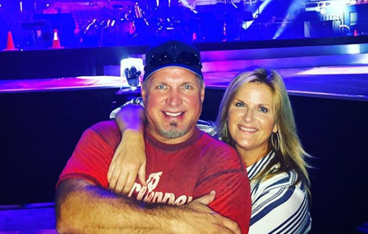 garth brooks trisha yearwood live duets album