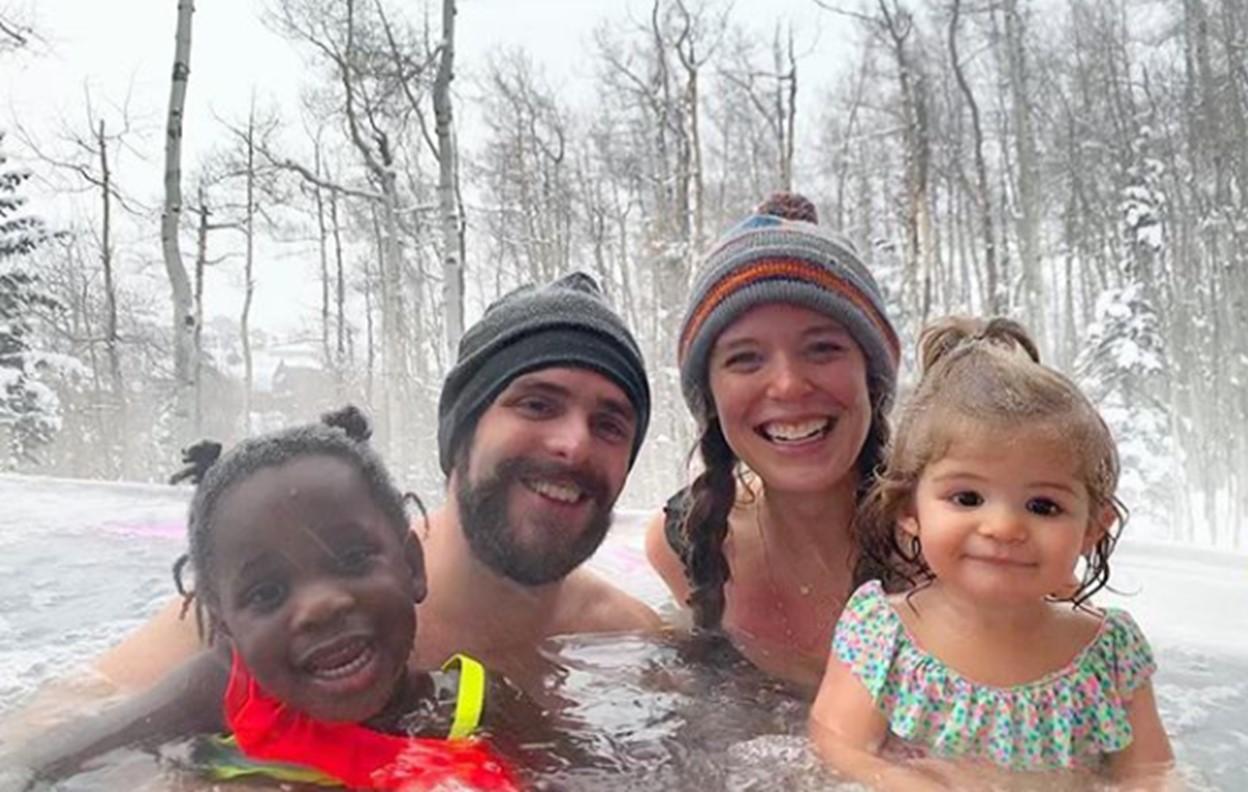 thomas rhett family ski trip