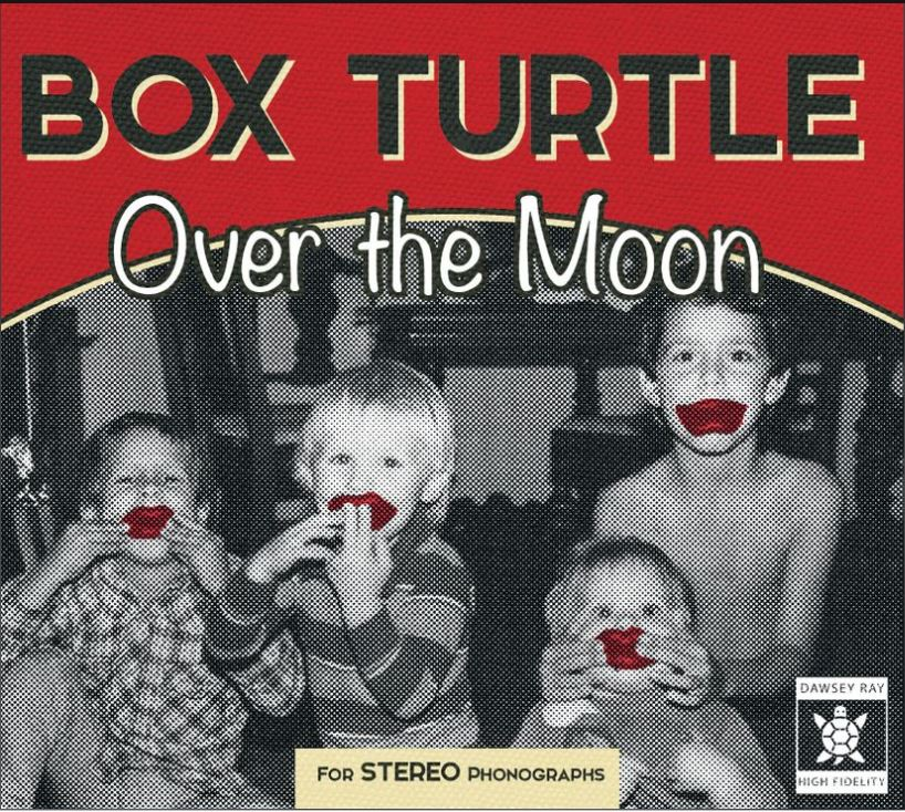 Box Turtle Over The Moon