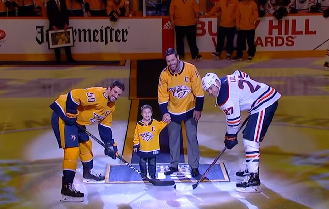 mike fisher and isaiah