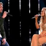 Laci Kaye Booth and Brett Young