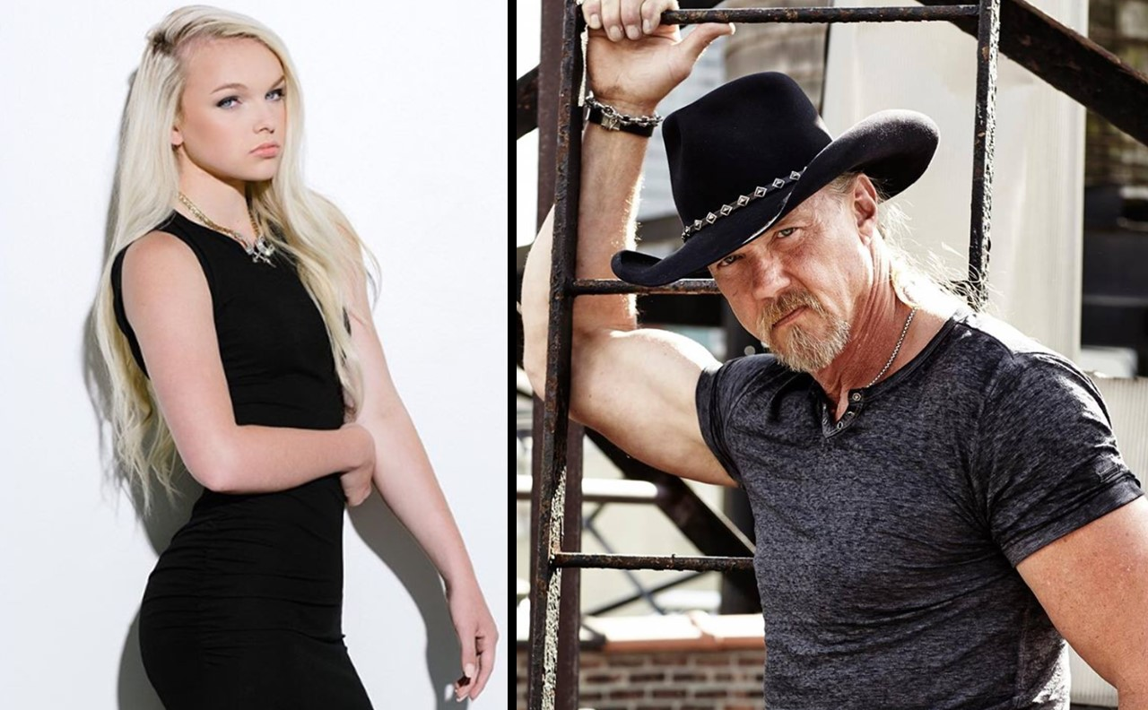 trace adkins' daughter