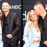 Kane Brown and wife