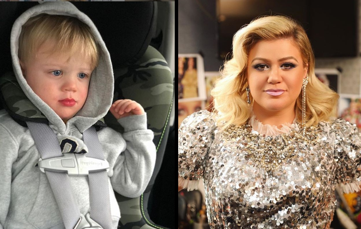 kelly clarkson's son