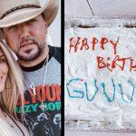 jason aldean's birthday cake