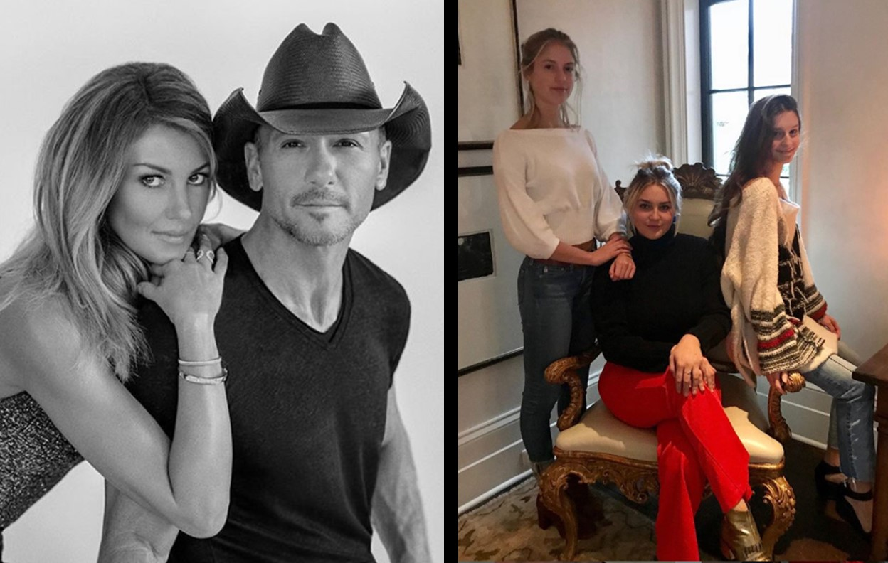 tim mcgraw and Faith Hill's daughters