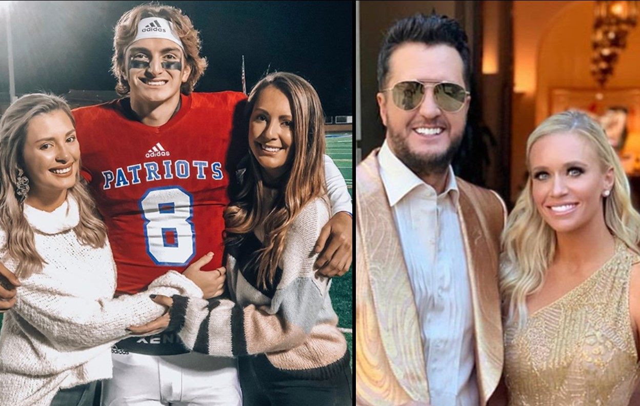 luke bryan's nieces and nephew