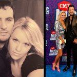 Luke Bryan and Wife