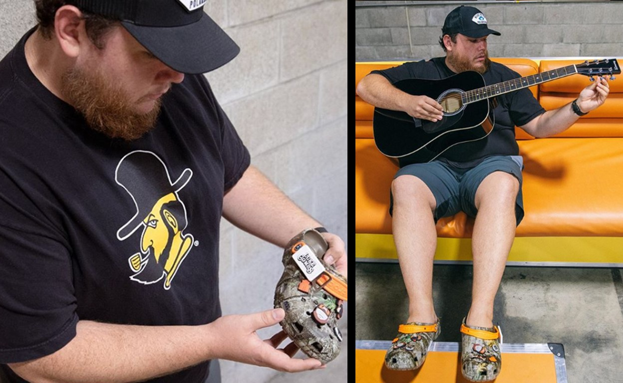 Luke Combs Crocs