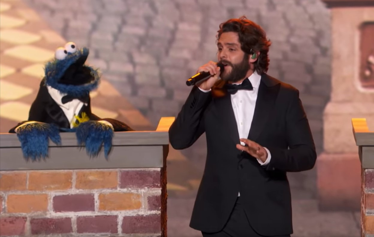 Thomas Rhett's Sesame Street Tribute