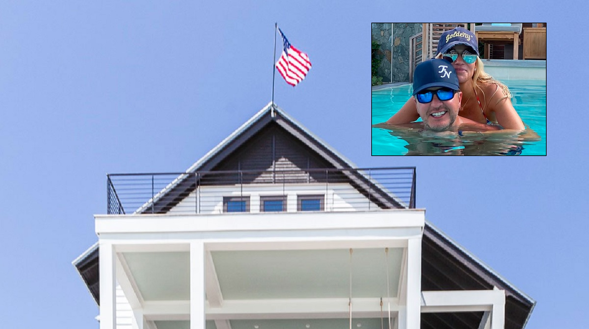 Luke Bryan Beach House