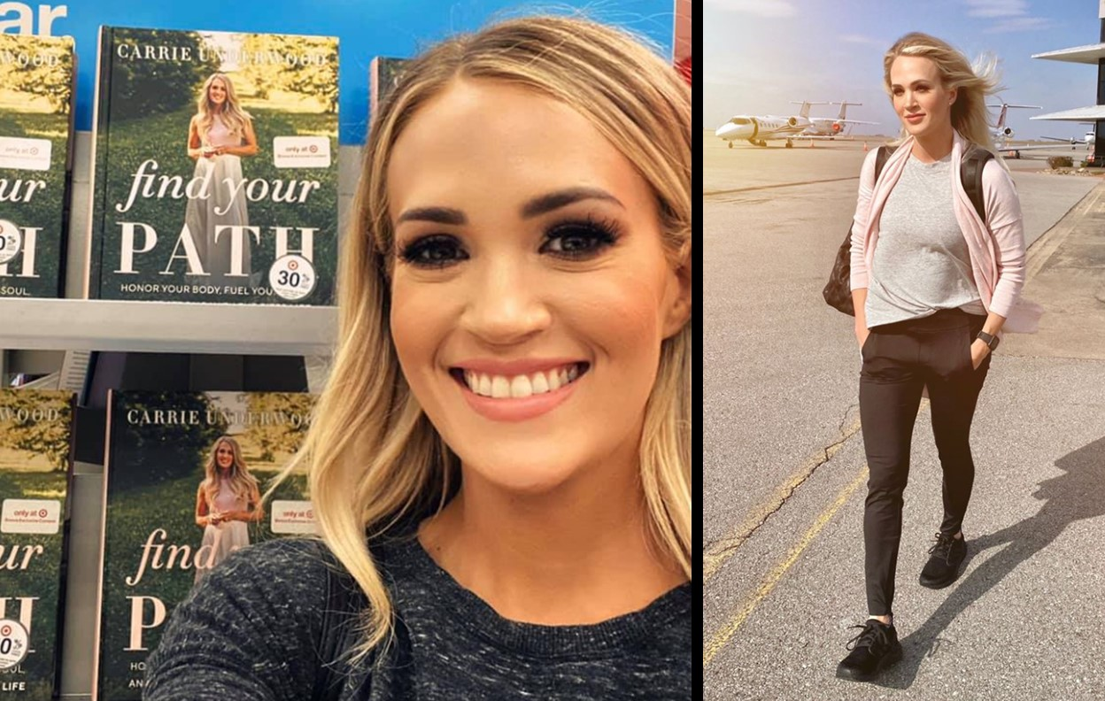 Carrie Underwood's Fitness Book 'FIND YOUR PATH' Has Dropped