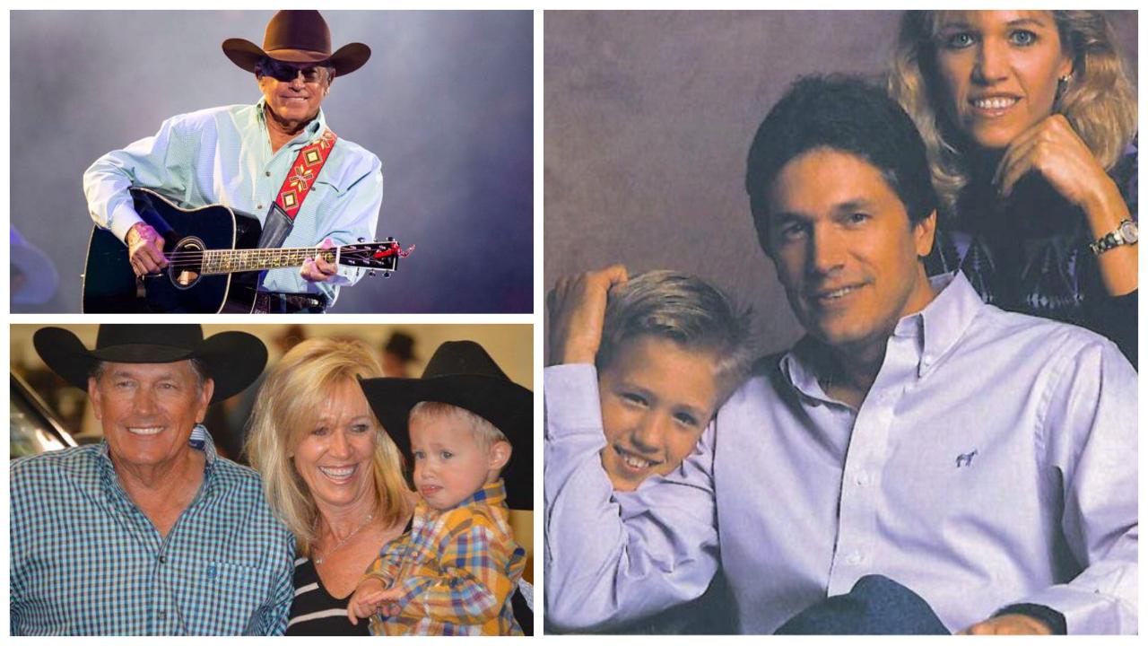 George Strait's Family