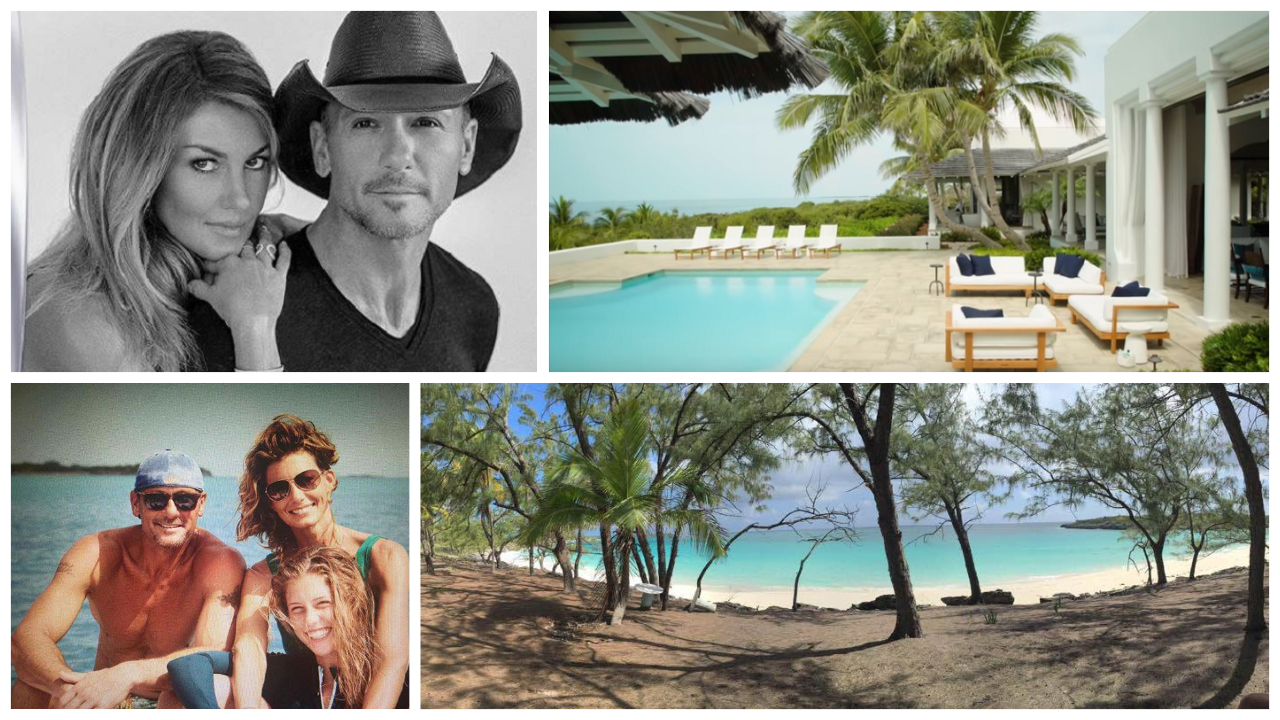 Tim McGraw and Faith Hill's Island