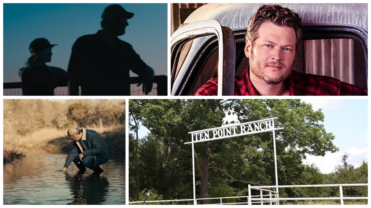 Blake Shelton's Ranch Property