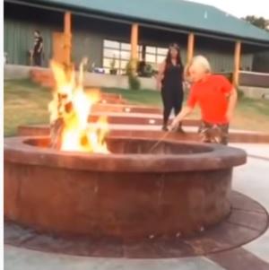 Blake Shelton's Firepit