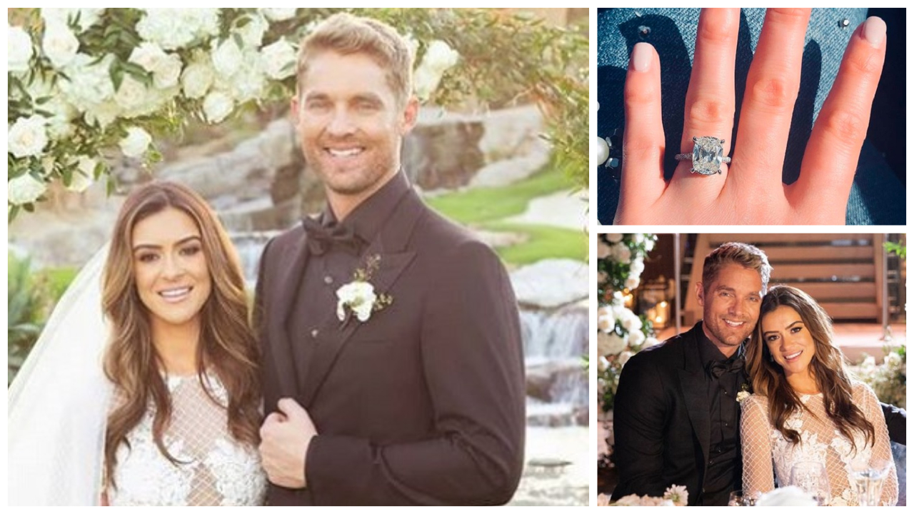 Brett Young and Taylor Mills Wedding