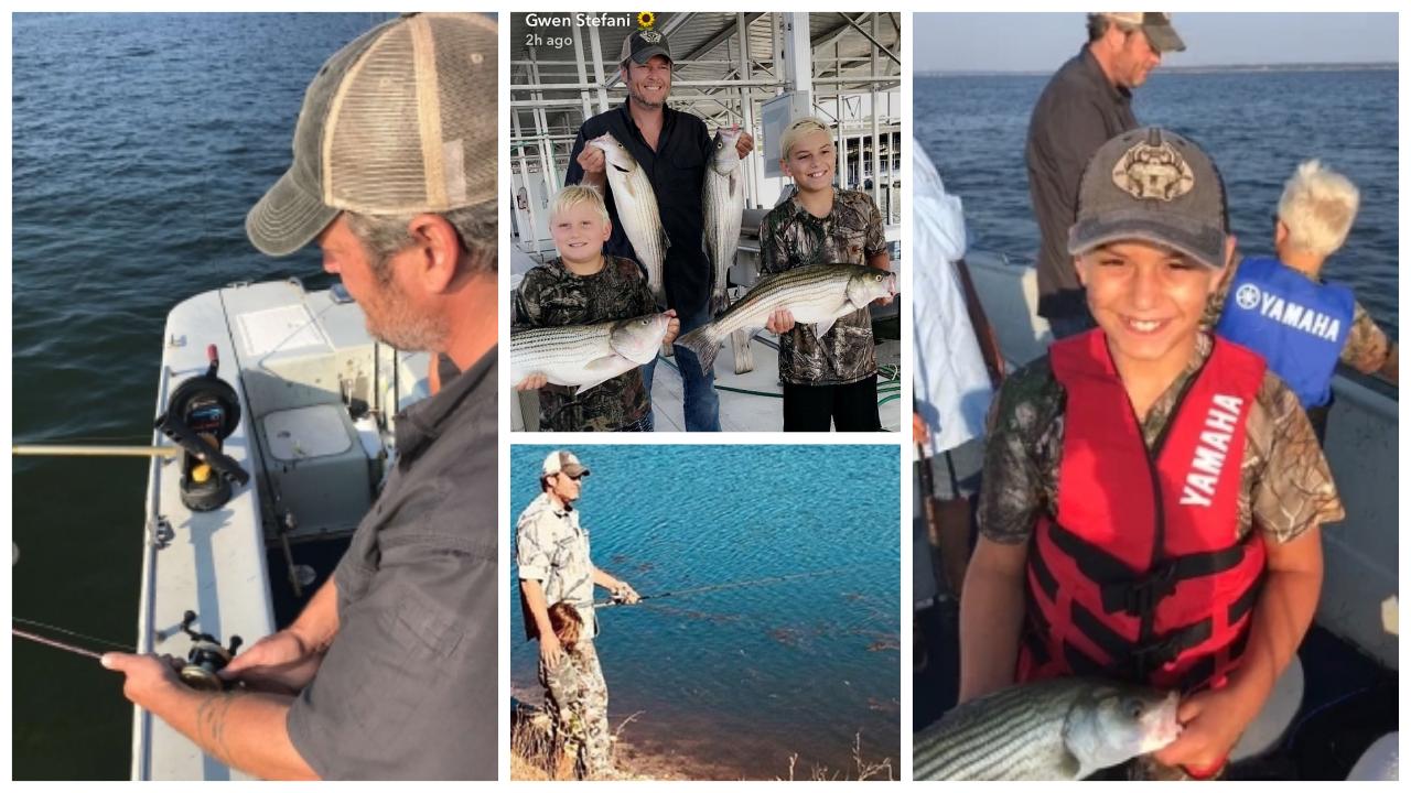 Blake Shelton Fishing