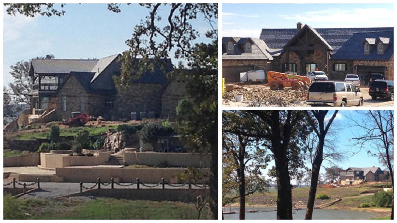 Blake Shelton Lake Home