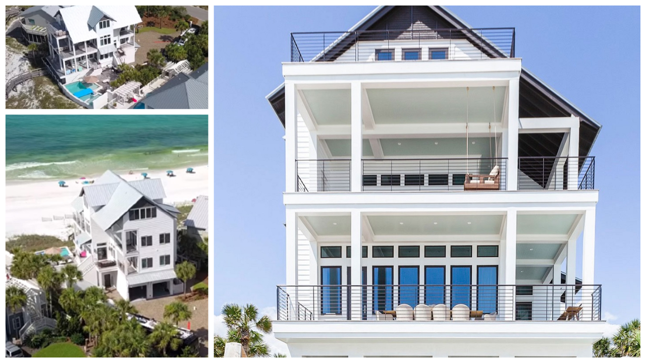 Luke Bryan's Florida Beach House