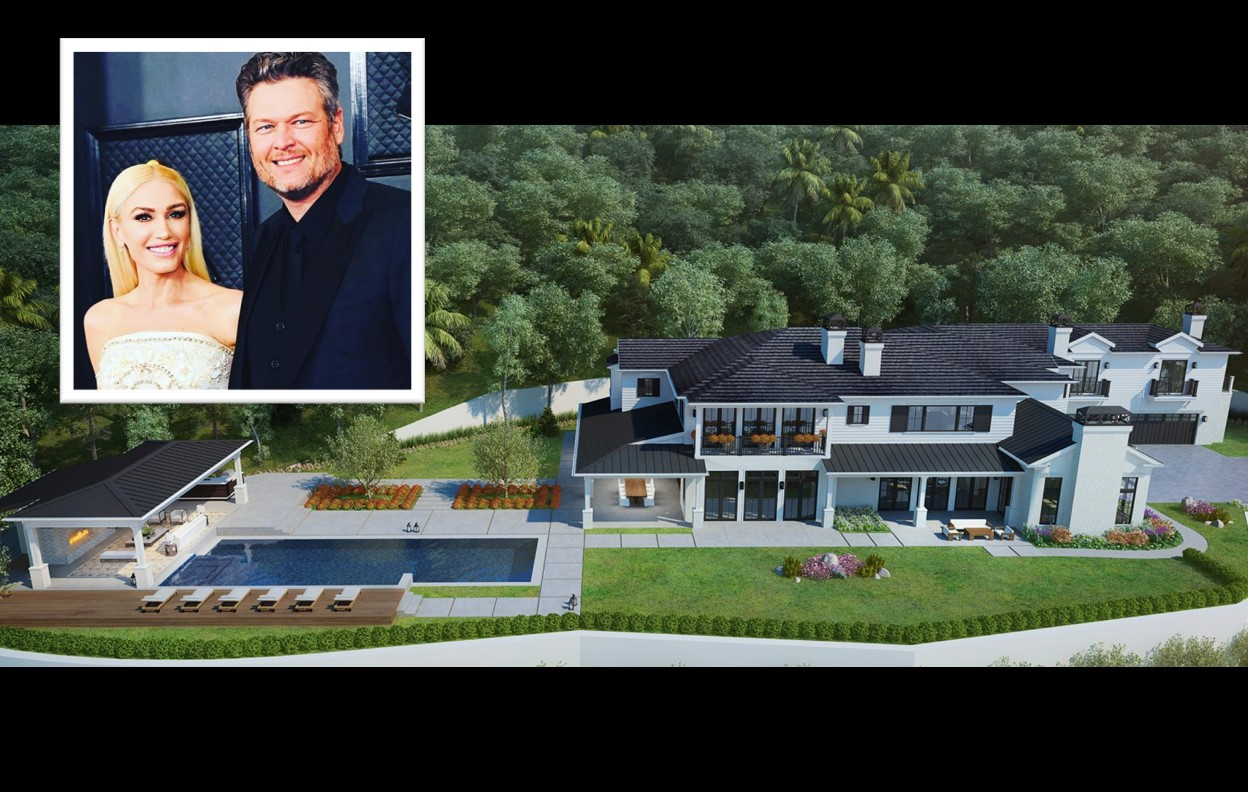 Blake Shelton and Gwen Stefani's home