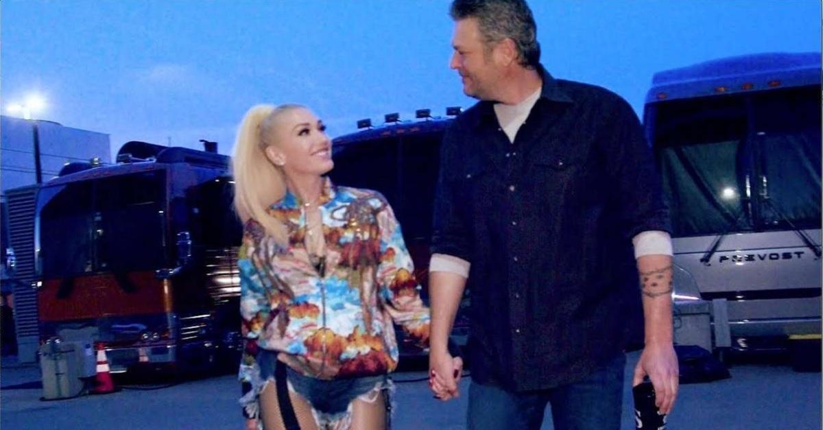 Blake Shelton and Gwen Stefani Nobody But You Live