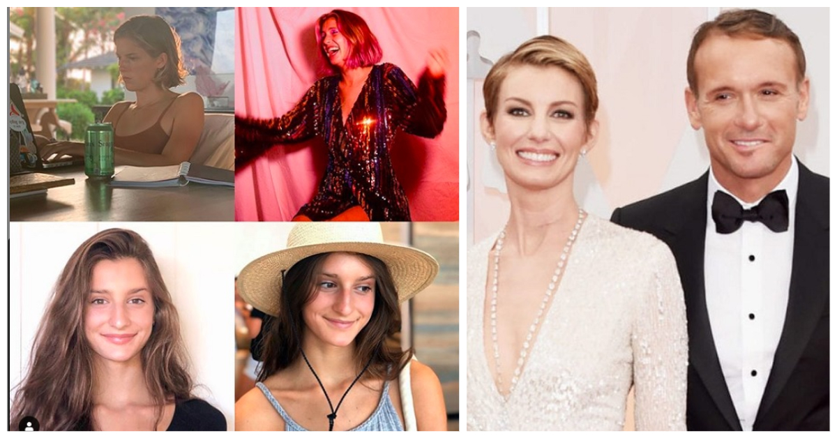 Tim McGraw and Faith Hill's Kids