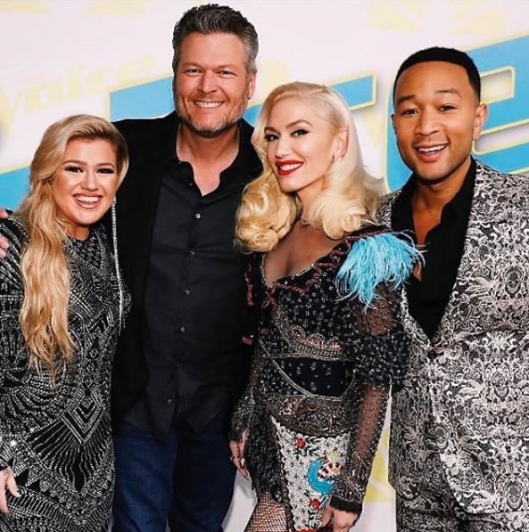 The Voice Coaches for Season 19