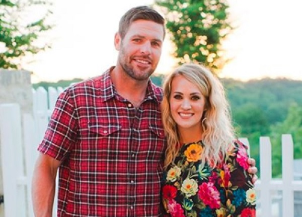 Carrie Undewrwood and Mike Fisher