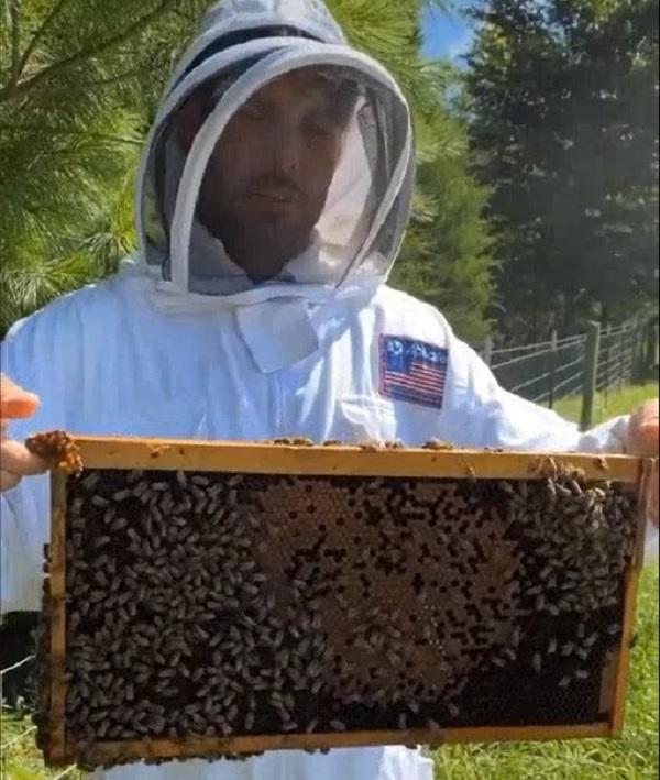 Mike Fisher Beekkeeper