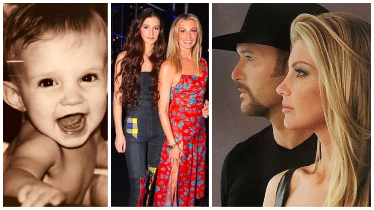 Tim McGraw and Faith Hill's Youngest