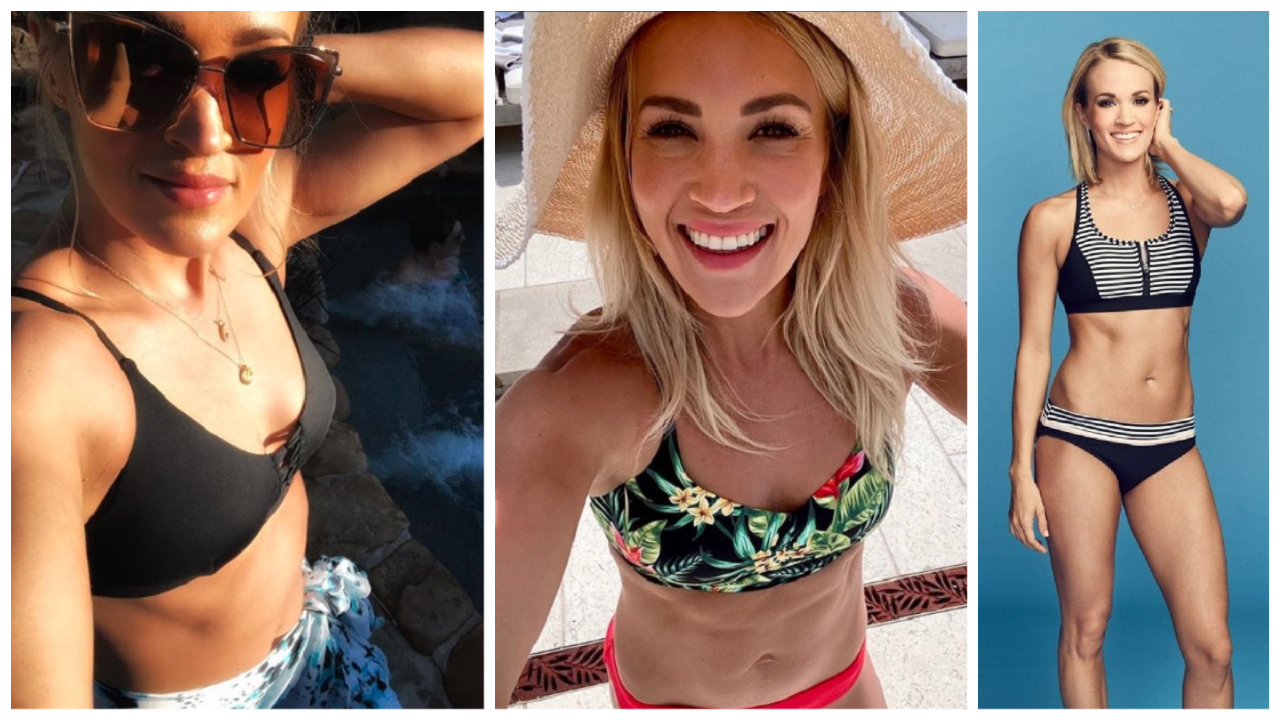 Carrie Underwood Swimsuit Style