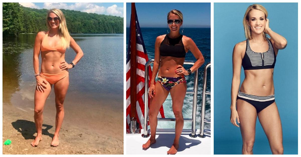 Carrie Underwood Swimwear