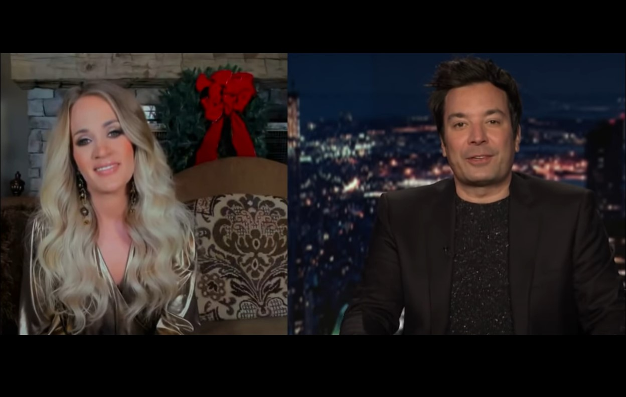 Carrie Underwood on The Tonight Show Starring Jimmy Fallon
