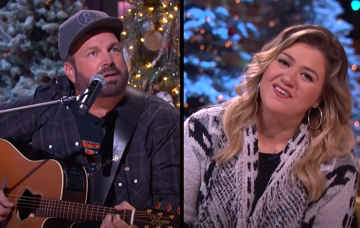 garth brooks and kelly clarkson