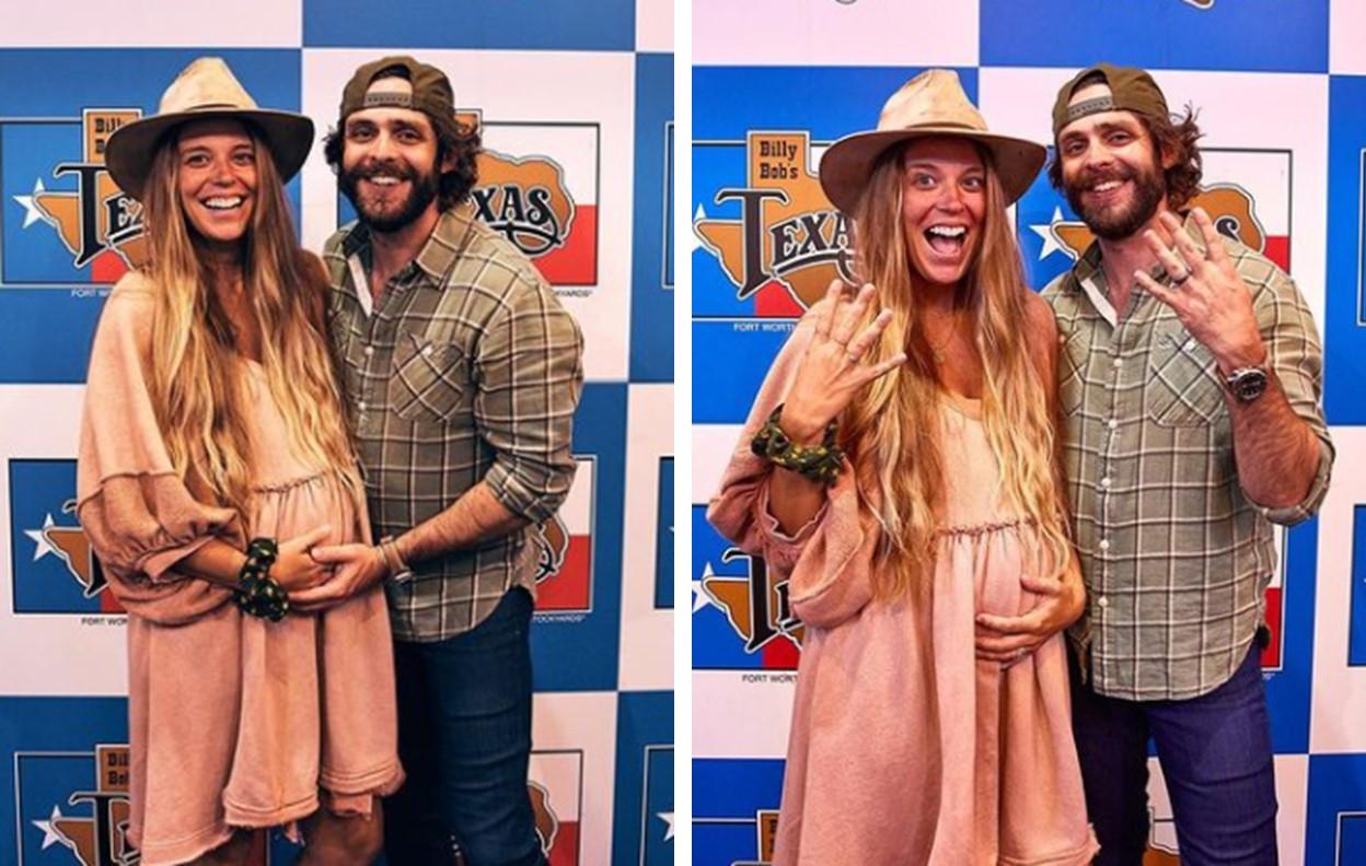 Thomas Rhett and Wife Lauren Akins