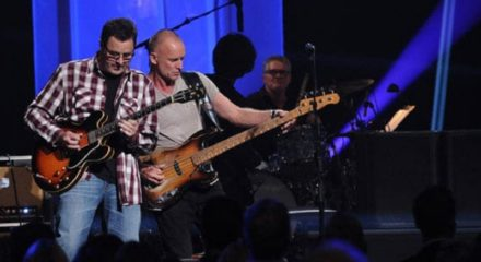 Vince Gill and Sting