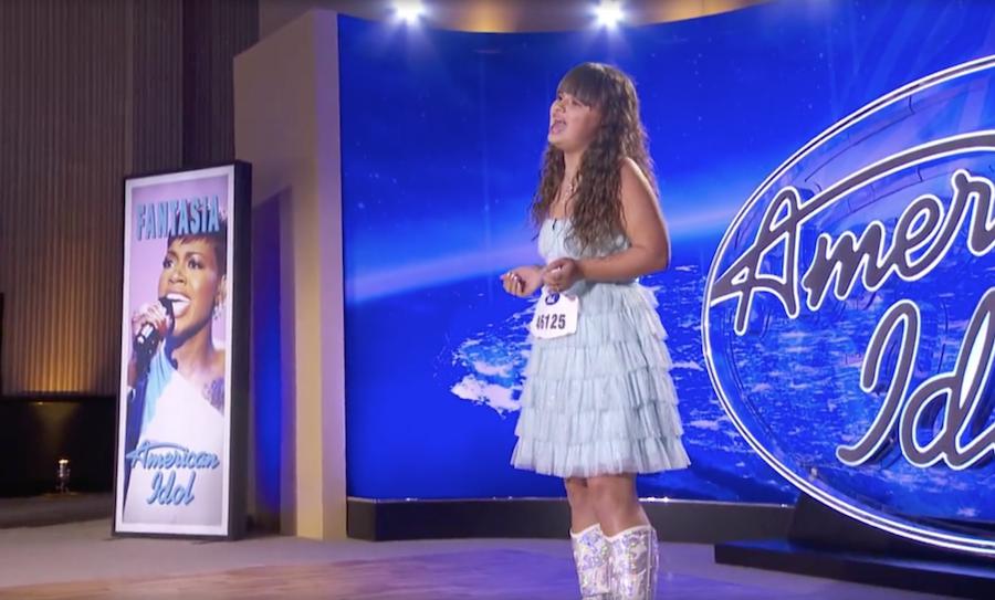 American Idol Blue