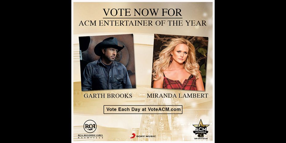 Garth Brooks and Miranda Lambert