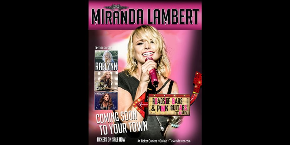 Miranda Lambert is Bringing Back Her Roadside Bars and Pink Guitars Tour!