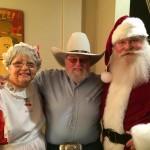Charlie Daniels with Santa