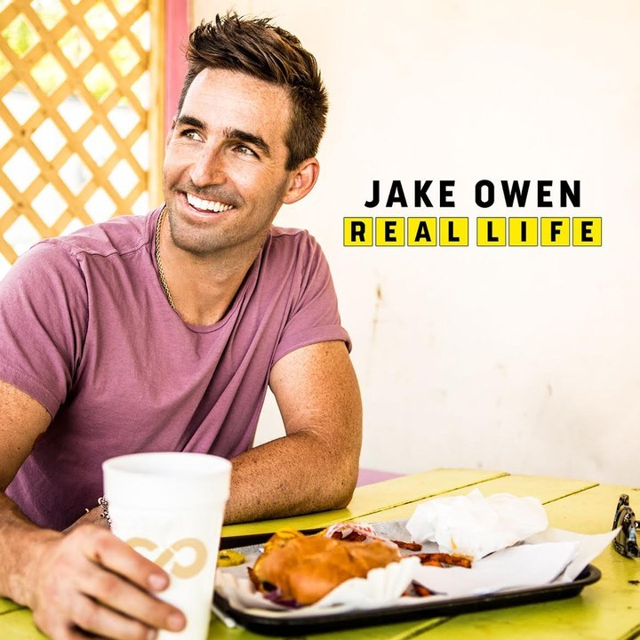 Jake Owen Reveals Artwork for his New Album Real Life!