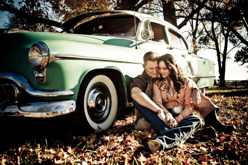 Joey + Rory are seen in the video performing an emotional version of