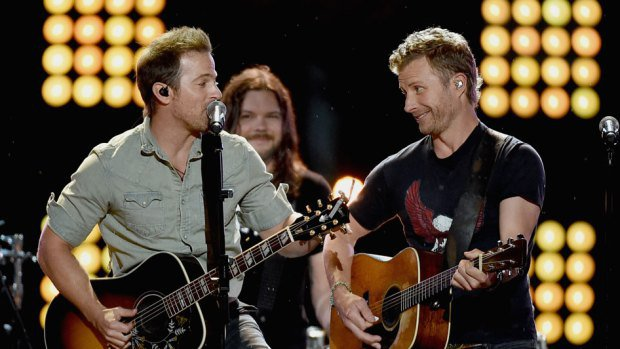 Dierks Bentley and Kip Moore