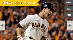 giants beat STL in game 4 2014